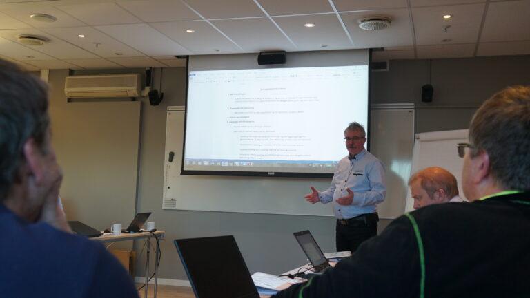 Jan-Roar Nordal, ettermarkedssjef hos Norwegian Agro Machinery.