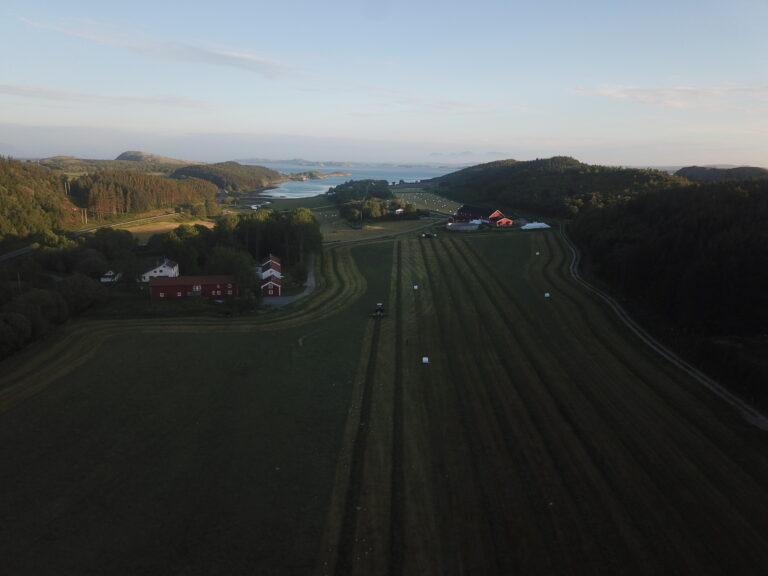 Gården Belsvåg er et tidligere bispesete for Nordlandene.