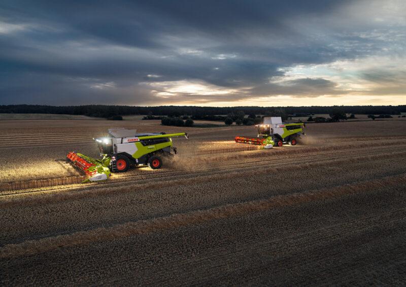 Utfordringen er akseptert, hilsen Norwegian Agro og CLAAS