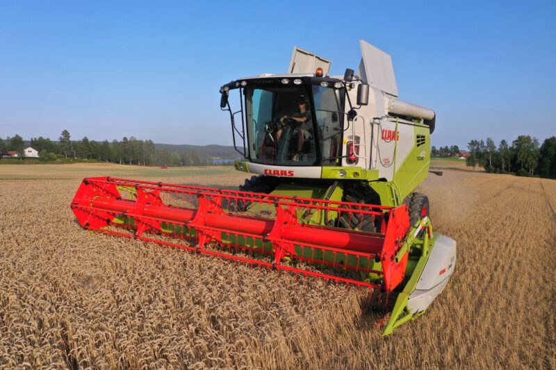 Stabilt treskersalg for CLAAS i Norge