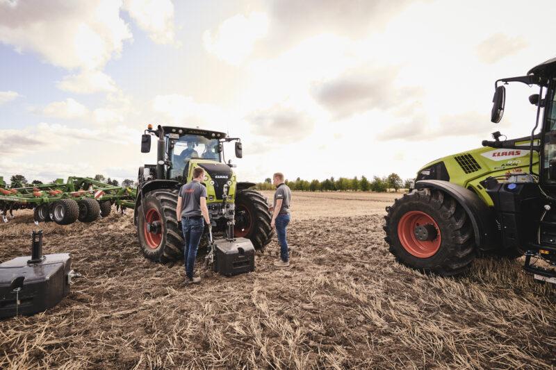 CEMOS for traktorer øker effektiviteten