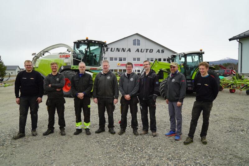 Denne gjengen bringer CLAAS tilbake til Nord-Østerdalen