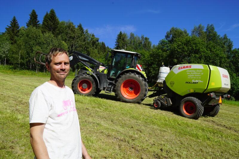 Gikk for stabilitet og kraft: – Traktoren er fryktelig sterk