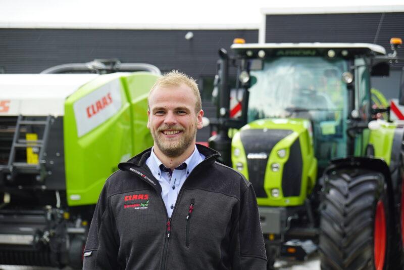Håvard er ny traktorsjef hos Norwegian Agro